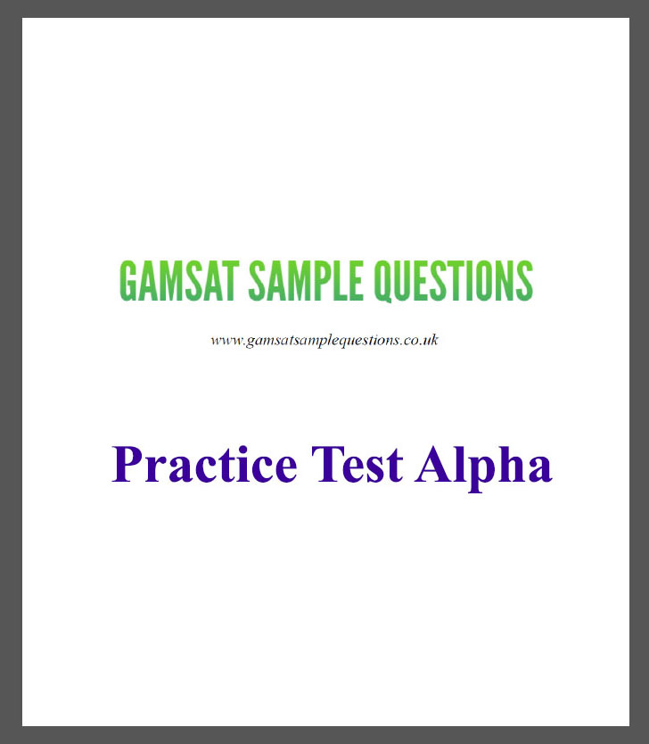 good gamsat essays Sample questions and practice tests for gamsat section 1  and just because  you've been good at essays before doesn't mean you're set.